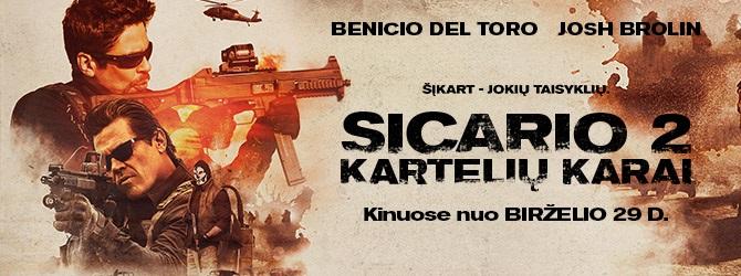 Sicario 2: Kartelių karai